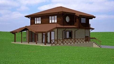 Къща с дървена конструкция София